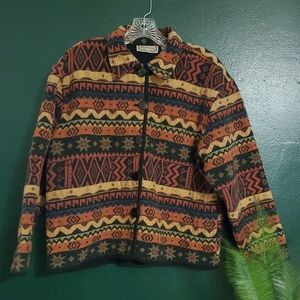 New Direction | Vintage Aztec Jacket Retro